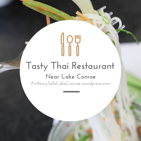 Tasty Thai Restaurant Near Lake Conroe