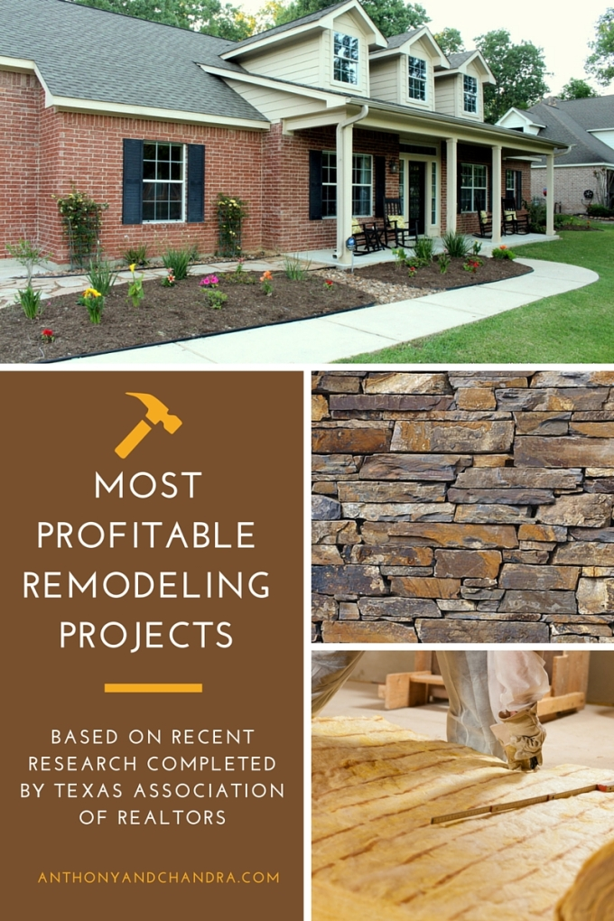New Study Shows Most Profitable Remodeling Projects in the Texas Market