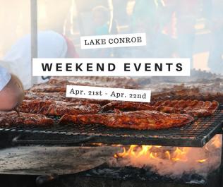 Weekend Events Near LakeConroe